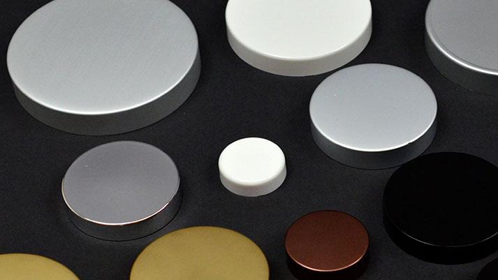 Metal Overshell Plastic Caps