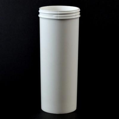 12 oz 63/400 Regular Wall Straight Base White PP Jar