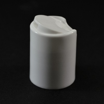 24/415 Smooth White Presstop Dispensing Cap PP