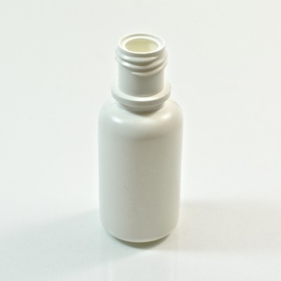 1/2 oz 15/415 Boston Round White LDPE Bottle