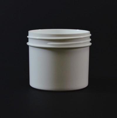 2 oz 58/400 Regular Wall Straight Base White PP Jar