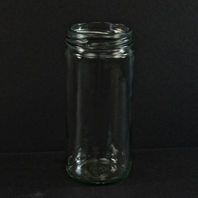 4 Oz 48 485 Flint Round Spice Glass Jar Alameda Packaging