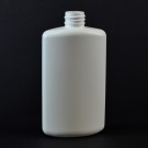 4 oz 20/410 Drug Oval White HDPE Bottle