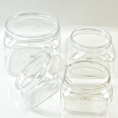 Regular Wall Firenze Plastic Jars