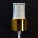 20/410 Fine Mist Sprayer Shiny Gold/White/Clarified Hood