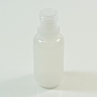 1/2 oz 15/415 Boston Round Natural LDPE Bottle
