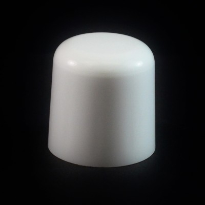24/410 White Soft Shoulder Symmetrical Cap to 2 oz #213