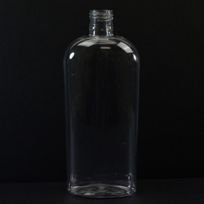 12 oz 24/415 Cosmoval Clear PET Bottle