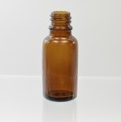 20ml Euro Dropper 18-DIN Amber Glass Bottle