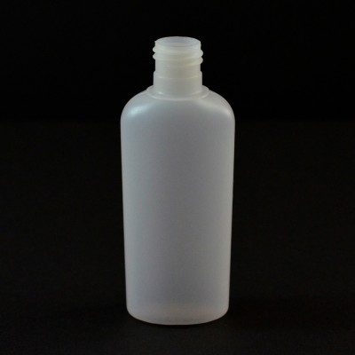 1 oz 15/415 Classic Oval Natural HDPE Bottle