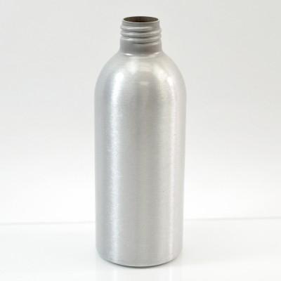 6 oz Brushed Silver 24/410 Aluminum, 53x140 Bottle