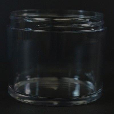 200 ML 75 MM Heavy Wall Low Profile Clear PETG Jar