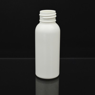 2 oz 24/410 Royalty Round White HDPE Bottle