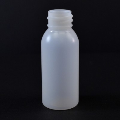 1 oz 20/410 Imperial Round Natural HDPE Bottle