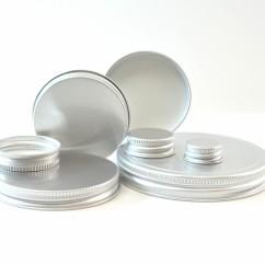 Metal Aluminum Caps