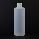4 oz 24/410 Cylinder Round Natural HDPE Bottle