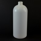 32 oz 28/410 Royalty Round Natural HDPE Bottle