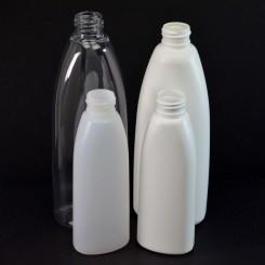 Teardrop Oval Plastic Bottles