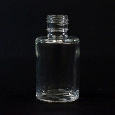 1/2 oz 15/415 Cylinder Clear Glass Bottle