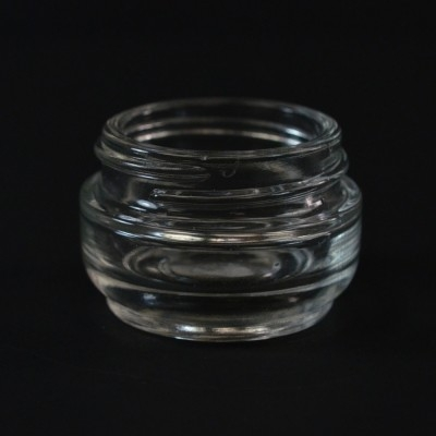 15 ML 40/400 Venus Clear Glass Jar