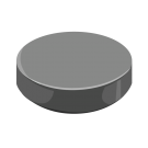 58/400 Black Phenolic Straight Sided Cap F217