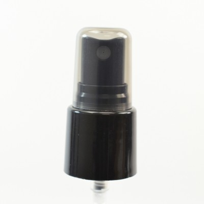22/415 Smooth Black Fine Mist Sprayer PP Hood