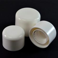 Symmetrical Plastic Caps