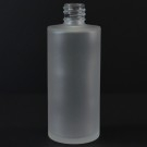 2 oz 18/415 Cylinder Frosted Glass Bottle