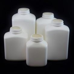 Oblong Plastic Bottles
