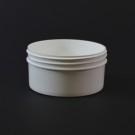 4 oz 89/400 Regular Wall Straight Base White PP Jar
