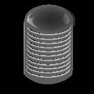 20/415 Black Phenolic Ring Cap F217