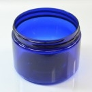 12 oz 89/400 Wide Mouth Cobalt Blue PET Jar