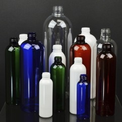 Cosmo Round Plastic Bottles
