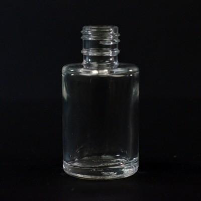 1/2 OZ 18/415 Cylinder Round Clear Glass Bottle  - 381/case