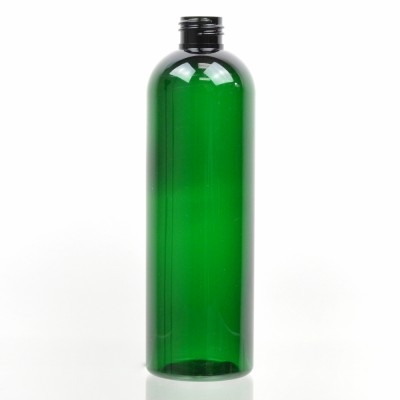 12 oz 24/410 Cosmo Round Emerald PET Bottle