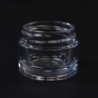 15 ML 38/400 Heavy Wall Clear PETG Jar