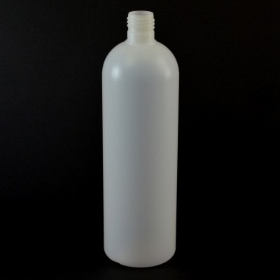 20 oz 24/415 Royalty Round Natural HDPE Bottle