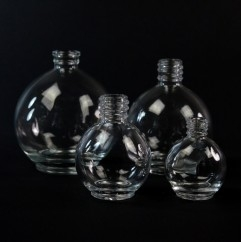 Globe Glass Bottles
