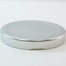 63/2030 Regular Twist Open with Button Silver Metal Cap / Plastisol Liner