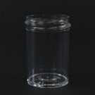 1 oz 38/400 Regular Wall Straight Base Clear PS Jar