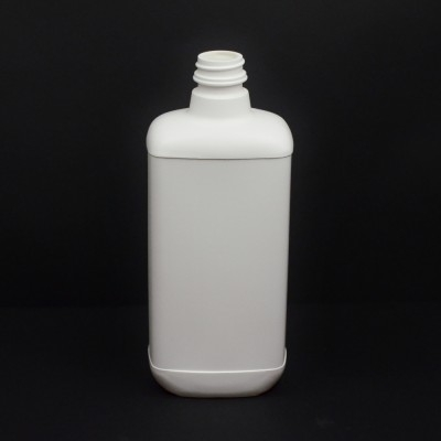 32 oz 33/400 White Blake Oblong HDPE Bottle