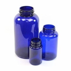Cobalt Blue PET Pharmaceutical Packers