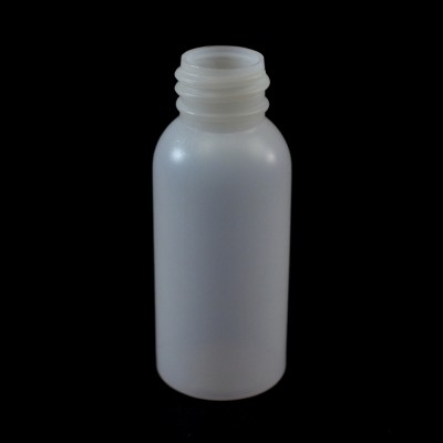 1 oz 20/410 Natural HDPE Royalty Round Bottle