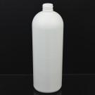 32 oz 28/410 Imperial Round White HDPE Bottle
