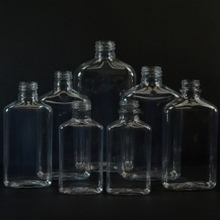 Metric Oblong Plastic Bottles