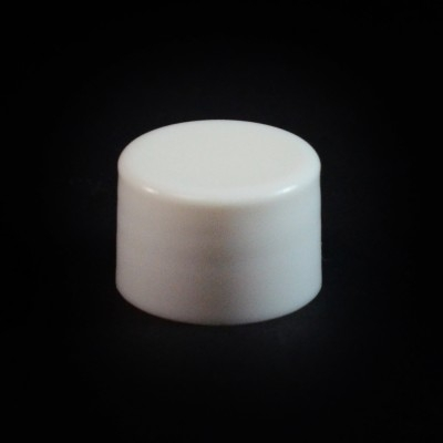20/410 White Smooth Straight PP Cap / F217 Liner