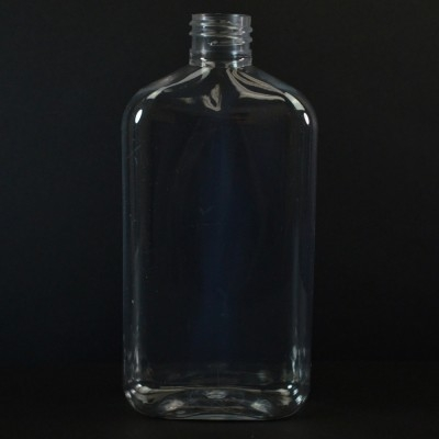 425 ml 28/410 Metric Oblong Clear PET Bottle