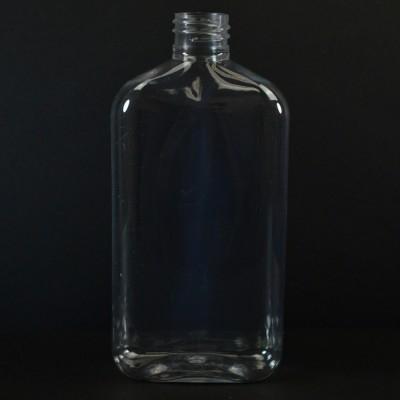 425 ml 28/410 Metric Oblong Clear PET Bottle