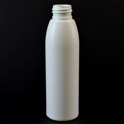 4 oz 24/410 Evolution Round White HDPE Bottle