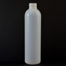 8 oz 24/410 Imperial Round Natural HDPE Bottle